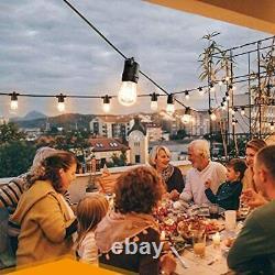 100Ft Outdoor LED String Lights Anting 30M IP65 Waterproof solar lighting Garden