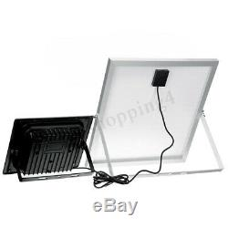 100W 200W 100/192LED Solar Flood Light Music bluetooth Outdoor Garden Wall Lamp