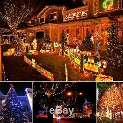 100-500 LED Solar Power String Fairy Lights Outdoor Garden Christmas UK STOCK