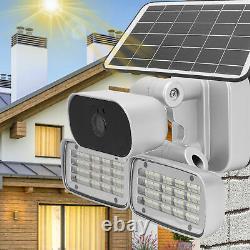 160 LED 4G 1080P Solar IP Camera Security CCTV Outdoor Garden Light Night Vision