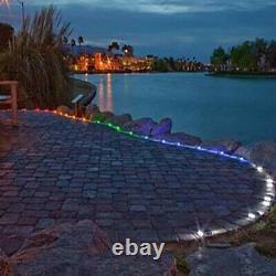1/5/8Pack Solar Ground LED Light Garden Pathway Deck Light Yard Deck Lawn Patio