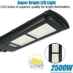 20PCS 2500W Solar Wall 924 LED Street Light PIR Motion Garden Road Lamp Remote