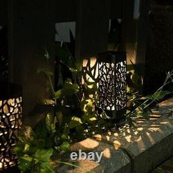20X4Pcs LED Solar Street Light Bulb Lawn Light Garden Light Decorative Street