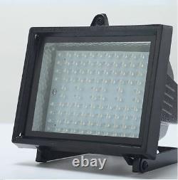 2 Pack Bizlander 10W108LED Solar Powered Flood Light for Home Work Garden Farm