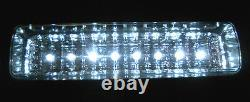 2 x Solar Powered Shed Eaves 8 LEDs Path Garage Barn Patio Porch Wall Light Lamp