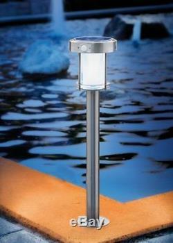 2x LED Solar Light Solar Garden Light with Motion Detector Garden Lamp
