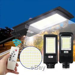 3500W 350000LM 936 LED Solar Street Light Motion Sensor Garden Wall Lamp Remote