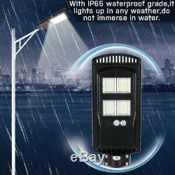 3500With4000W 1152LED Solar Street Light Outdoor Garden Wall Flood Lamp+Remote