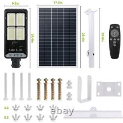 400W Solar Street Flood Light Outdoor with Remote Control IP65 Waterproof
