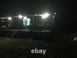 4 Pack Bizlander 108 LED Solar Light for Home Garden, Sign Park light NEW