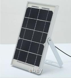 4 Pack Bizlander 5W60LED Solar Light for Home Garden Sign Park Camp