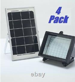 4 Pack Bizlander Solar Light for Garden Auto Turn on/off Automatic