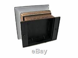 4x4 12 Pack Solar Powered Plastic Copper LED Square Garden Fence Post Cap Light