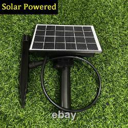 4x 48FT Solar/Electric Festoon Outdoor Lights Garden String Rustic Heavy Duty UK