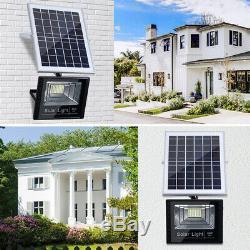65W Solar Panel Wall Light Outdoor Garden Street Lamp Solar Flood Lamp H