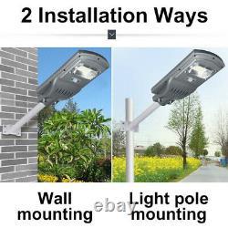 720W 720000LM Solar Street Light Motion Sensor Outdoor Garden Wall