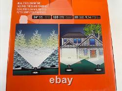 7 X Portfolio Landscape 1479471 Solar LED Spotlight Black Finish 120 Lumens