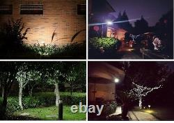 8 Pack Bizlander Massive 108 LED Solar Light for Home Garden, Sign Park light QW
