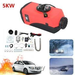 Air diesel Heater LCD Remote 5KW 12V 5000W For Car Home Lorrys Boats Bus Van