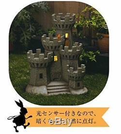 Disney Alice in Wonderland Solar Light Castle Garden Ornament Figure LED lamp FS