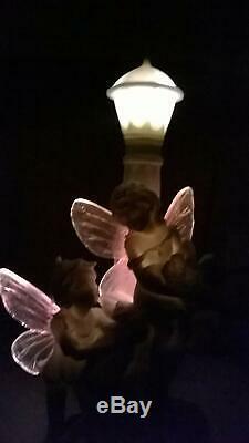 Gardenwize Solar LED Light Fairy Fairies Lamp Post Ornament Garden Decoration