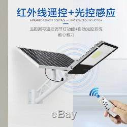 IP65 Solar Powered Street Light 10-200W LED Outdoor Garden Solar Lamp Remote