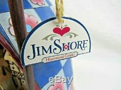 Jim Shore Gnome Heartwood Creek Solar Lighted Indoor Outdoor Garden Statue 19