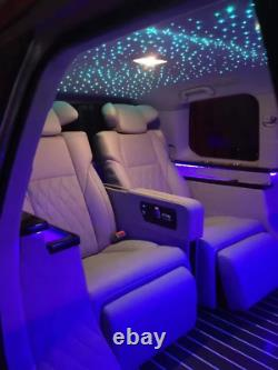 Kingmaled 16W Car Home APP Twinkle Music Activated Fiber Optic Star Ceiling Kit