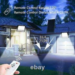 LEDMO Focus Solar Exterior 200W With Control Remote 8M 400 LED Garden For 350 m2