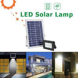 LED Solar Lamp 2000LM Waterproof Outdoor Street Garden Decor Night Light #Z