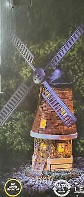 Light Up Windmill Ultra Bright LED Outdoor Decorative Garden Solar Powered