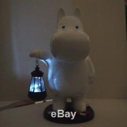 Moomin Solar Lantern Garden Light LED lamp Kato crafts Japan illumination Figure
