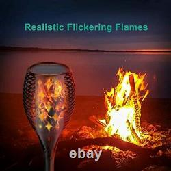 Nekteck Outdoor Torch Light with Star Design, Flickering Dancing Flames, Waterpr