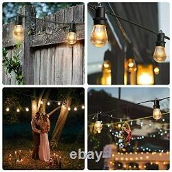 Outdoor Garden Party String Led Lights-128ft Outdoor String Lights- Patio Lights