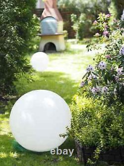 Outdoor LED Solar Ball Garden 30 inch RGB