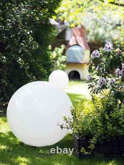 Outdoor LED, Solar Ball Garden 30 inch RGB, large solar garden ball, bullet