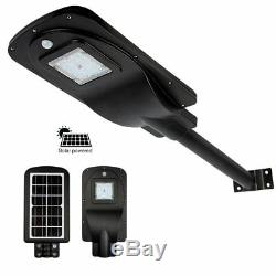Outdoor LED Solar Street Lights Super Bright 2000 Lumen Motion Sensor for Garden