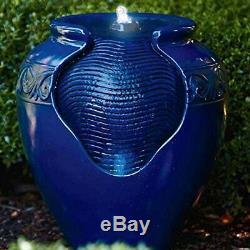 Peaktop YG0036AZ LED Garden Water Pump Feature Blue