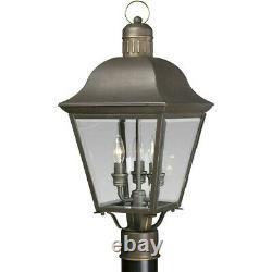 Progress Lighting Andover Three-Light Post Lantern P5487-20