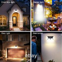 Solar Light Garden Outdoor Wall Lights 100LED Solar Powered Motion Sensor X 4pcs
