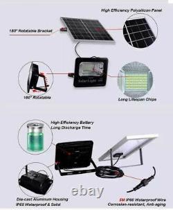 Solar Lights Outdoor Garden Garage Street Industrial Black Lamps Modern Style 6V