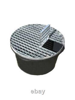 Solar Rainbow Sandstone Sphere 60cm Diameter Water Feature Kit With LEDs