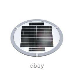 Solar garden street lamp UFO 2000lm PV 18W motion sensor remote PowerNeed, SLL12