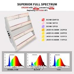 Sonlipo LED Grow Light Samsung Full Spectrum with Veg and Bloom Double Models