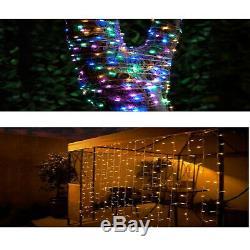 Stylish Garden LED Curtain Solar Lights