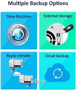 TerraMaster F4-210 4-bay NAS Quad Core 1GB RAM Network RAID Storage Media Server