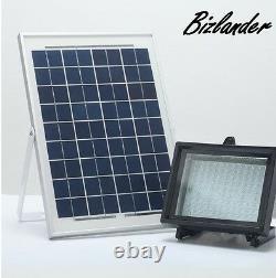 Twin Pack Bizlander 108 LED Solar Powered Flood Light for Outdoor lighting JYO