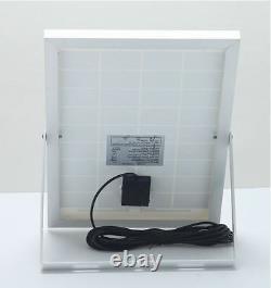 Twin Pack Bizlander 108 LED Solar Powered Flood Light for Outdoor lighting NHJY