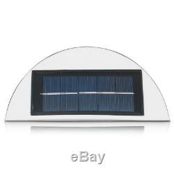 Wireless 5 LED Wall Security Light Solar Powered Outdoor Bright Patio Garden UK